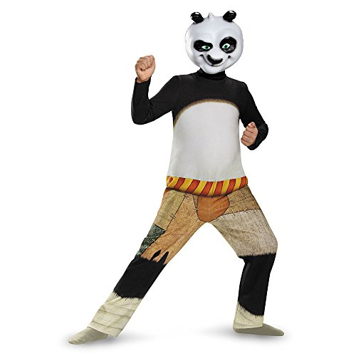 Disguise Panda-Po Classic Costume, Large (10-12)
