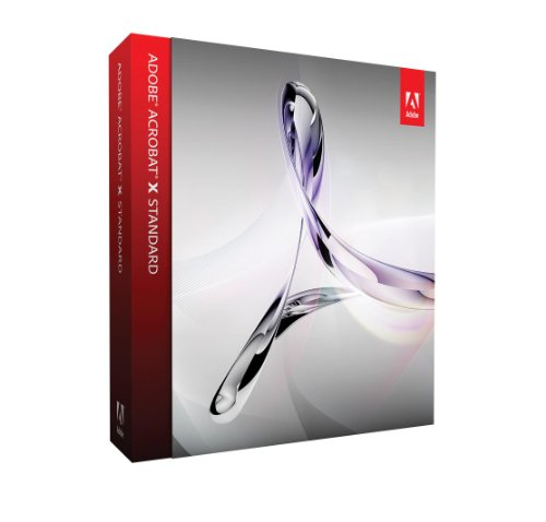 Adobe Acrobat X, Standard Version (PC)