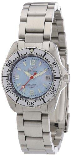Chris Benz Women's Quartz Watch CBL.H.MB.SI with Metal Strap