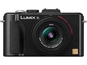 Panasonic Lumix DMC-LX5 10.1 MP Digital Camera with 3.8x Optical Image Stabilized Zoom and 3.0-Inch LCD - Black