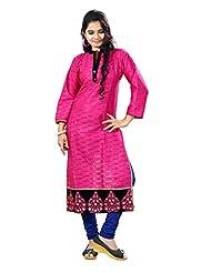 Arista Designer Ready To Wear Pink Kurti Size - 38 (KR83)