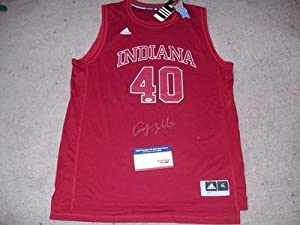 INDIANA HOOSIERS CODY ZELLER signed autographed RED ALT. JERSEY PSA DNA COA! -... by Sports+Memorabilia