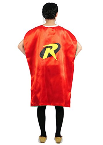 Rush Dance Deluxe Comics Teen or Adult Satin Unisex Super Hero save the day CAPE (Robin) (Batman Costume Sydney)