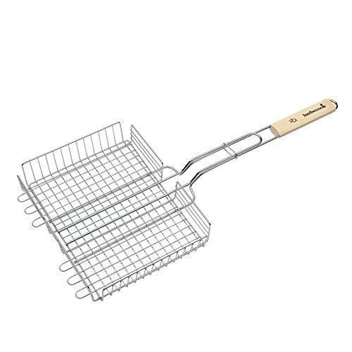 barbecook-meerstandig-grille-double-reglable-argent-32-x-5-x-63-cm
