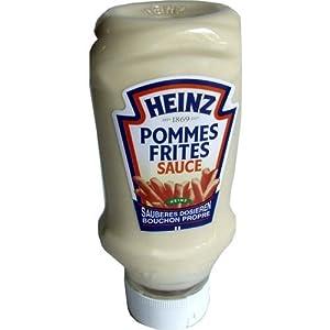Heinz Pommes Frites Sauce Kopfsteher 500ml