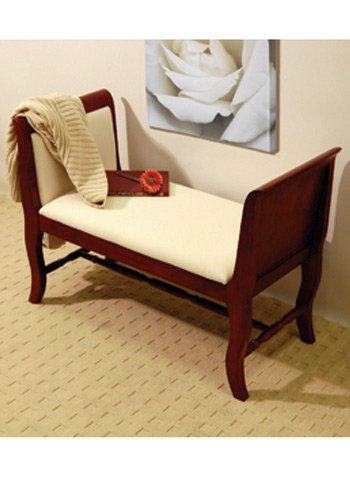 REGAL - Traditional Solid Wood Sofa Bench / Window Seat