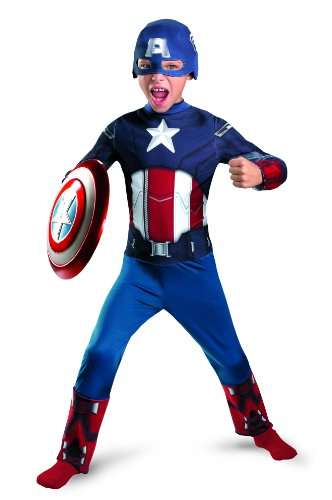 Disguise Boys Captain America Avengers Kids Costume