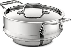 All-Clad 59915 Stainless Steel All-Purpose Steamer with Lid Cookware, Silver by All-Clad