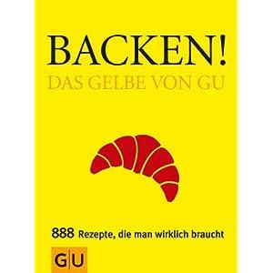 eBook Cover für  Backen Das Gelbe von GU