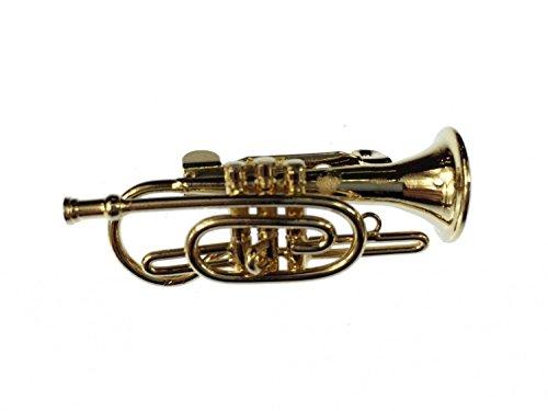 cornet-broche-bugle-miniblings-pin-badge-box-trompette-or