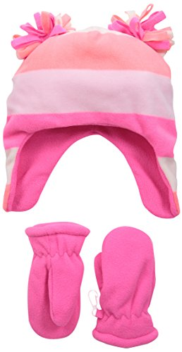 The Children's Place Baby-Girls Infant Stripe Microfiber Set, Multi Color, Small/12-24 Months