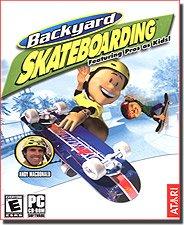 Humongous Entertainment-Backyard Skateboarding