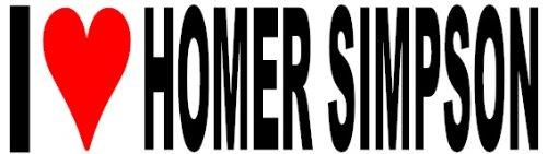 i-love-homer-simpson-funny-bumper-sticker-adhesivo-coche-van-bicicleta-free-p-p