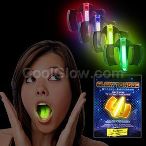 Fun Central O042 Glow in the Dark Mouth Guard - Assorted - 1