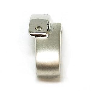 14050 (N2358) - Pendentif en Argent Serti d'un Diamant Véritable