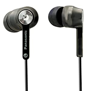 Panasonic RP-HC31E-K Ergo Fit In Ear Noise Cancelling