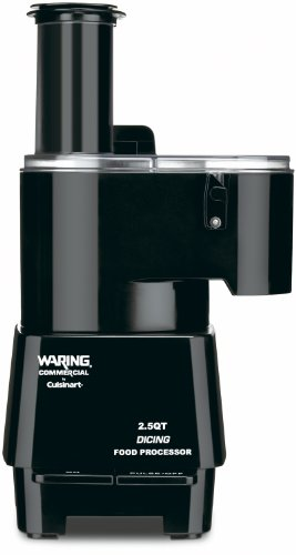 Today Waring Commercial FP1000 Dicing Batch Bowl and Continuous Food Processor, 2-1/2-Quart  Review