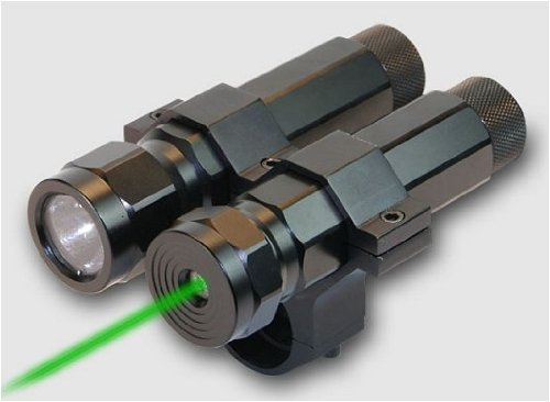 BSA Varmint Hunter Pro LED Light & Green Laser Md: LLSG .