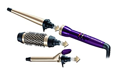 Remington CI97M1 Your Style Bar Starter Kit (Hot Brush, 19 mm Tong and Conical Wand)