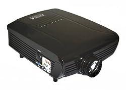 VVME V07 Digital Galaxy Series LCD HDMI Projector 720p HD Compatible (Native VGA 640 x 480) For Home Cinema, Movie, Video Games