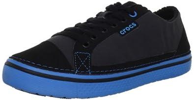 Crocs Men's Hover Crocs Weld Sneaker,Black/Ocean,13 M US