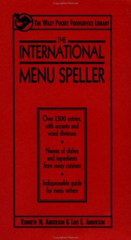 The International Menu Speller