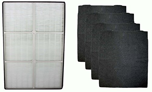 Complete Filter Replacement Set Whirlpool Whispure AP450 AP510 1183054 1183054K (Ap350 True Hepa Filter compare prices)