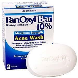 PanOxyl Bar 10% - 1 Bar (pack of 2)