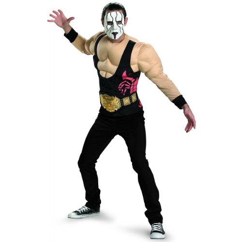 Sting Muscle Adult Costume Size 42-46