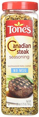 Tone's Canadian Steak Seasoning (28 ounce shaker)