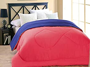 Desirica Premium Soft and Light Weight Microfibre Reversible Double Comforter/Quilt/Duvet