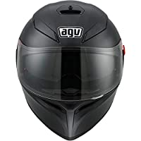 AGV 0101-7486 K-3 SV Motorcycle Helmet (Matte Black, Large) from AGV