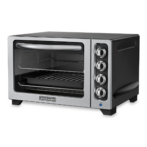 KitchenAid RKCO222OB Onyx Black 10-Inch Countertop Oven, 12 Inch Countertop Oven (Certified Refurbished) (Kitchenaid Toaster Ovens compare prices)