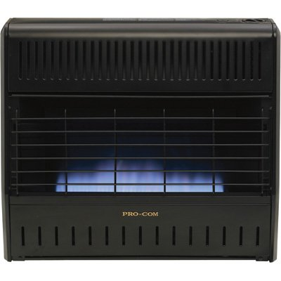 Price ProCom Vent-Free Dual Fuel Infrared Radiant Wall Heater – 5