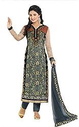 Mahaveer Fashion Women's Dress Material (9774_25_81001_Grey_Free Size)