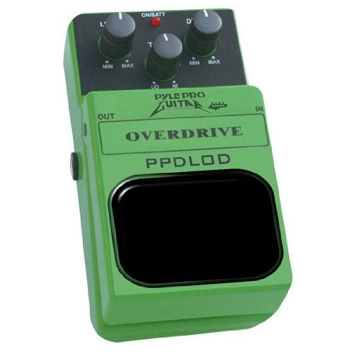 Pyle-Pro Ppdlod Ultimate Overdrive Effect Guitar Pedal
