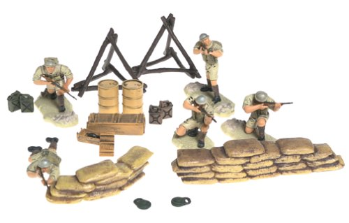 Buy Low Price Forces of Valor U.K. 7th Armored Division – El Alamein, 1942 Figure (B000098XGO)