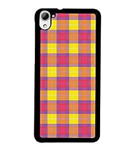 PrintDhaba Pattern D-5165 Back Case Cover for HTC DESIRE 826 (Multi-Coloured)