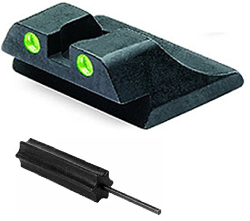 Meprolight The Mako Group Ml10990R.S Ruger P89 Tru-Dot® Night Sight Rear Sight + Ultimate Arms Gear Pro Disassembly 3/32 Pin Punch Armorers Gunsmith Tool