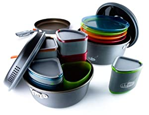 GSI Outdoors Pinnacle Camper Cookware Set by GSI