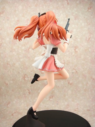 Melancholy of Haruhi Suzumiya Mikuru Asahina Waitress Ver. 1/6 Scale PVC Figure Pink Version