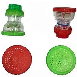 SHRUTI Taps / Bib cock Water Softner ,water cleaner ,water purifier, water Filter - Pack of 3 (Code-2127 mix color)