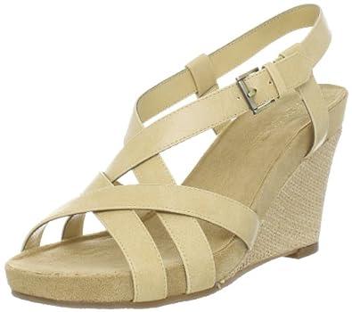Aerosoles Women's At First Plush Sandal,Bone Combo,10.5 M US