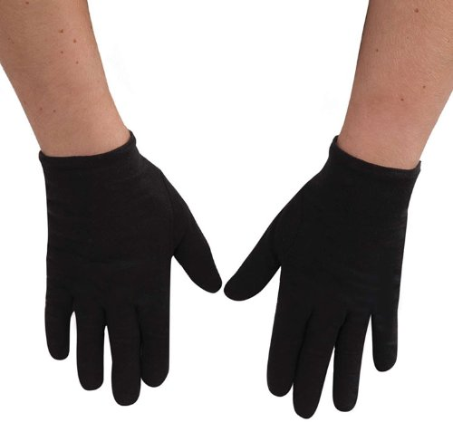 Kids Black Theatrical Gloves
