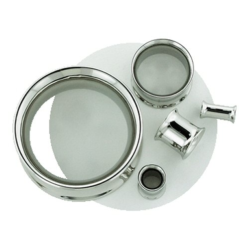 One Stainless Steel Double Flared Eyelet: 2