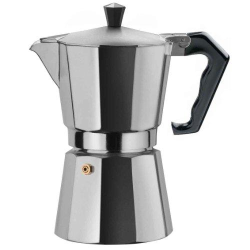 Primula Stovetop Espresso Maker, 3-Cup Capacity, Aluminum