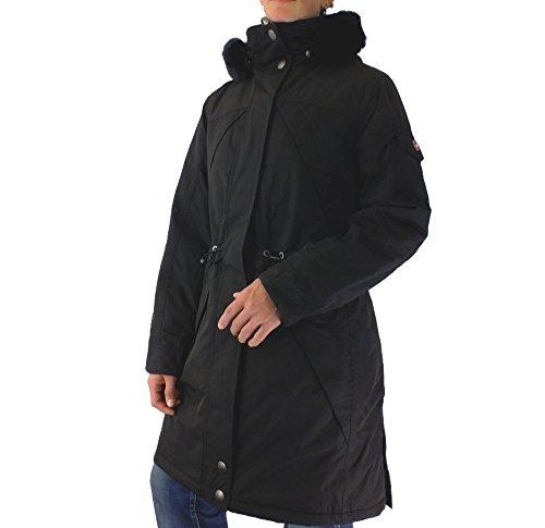 Wellensteyn Sneeparka Jacke Mantel Winterparka Outdoor Damen Schwarz S-XXL günstig bestellen