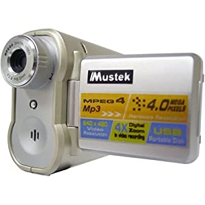 Mustek DV-3500 Digital Camera w Digital Video, Voice Recorder, and MP3 Capability by Mustek