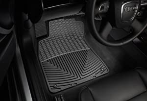 WeatherTech - W27 - 2000-2006 BMW X5 Black All Weather Floor Mats 1st Row