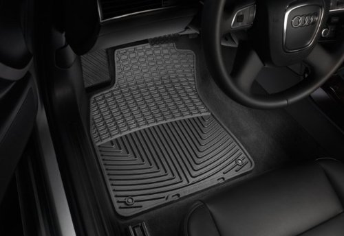WeatherTech - W39 - 2005-2010 Pontiac G6 Black All Weather Floor Mats 1st Row (Weathertech Floor Mats Pontiac G6 compare prices)